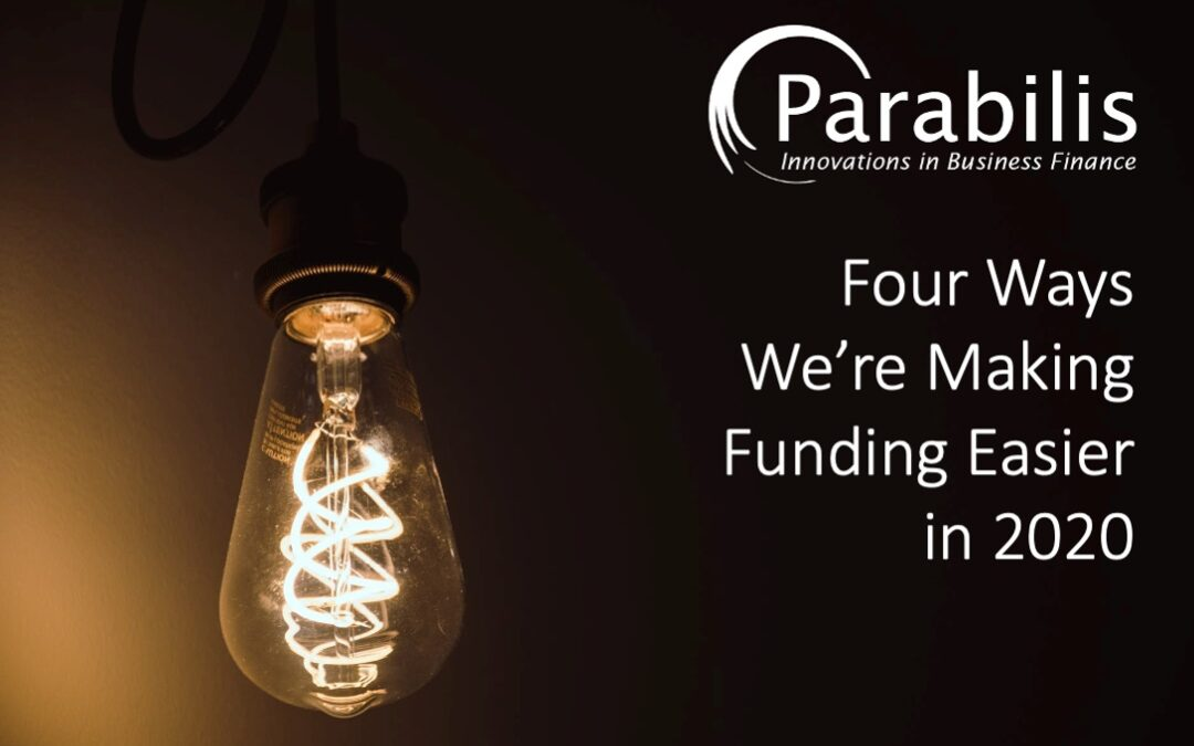 Constant improvement: Four ways we're making funding easier in 2020