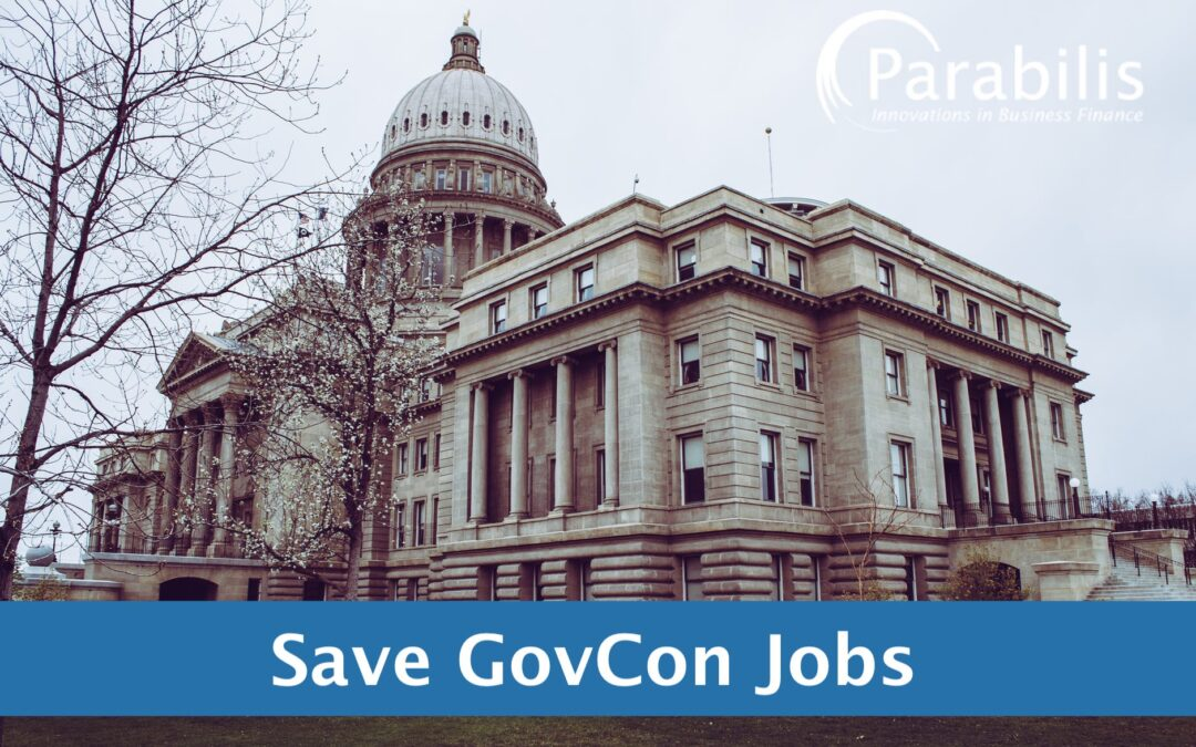 Parabilis urges Congress to protect govcon jobs