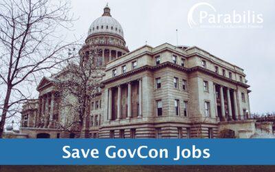 Parabilis urges Congress to protect govcon jobs