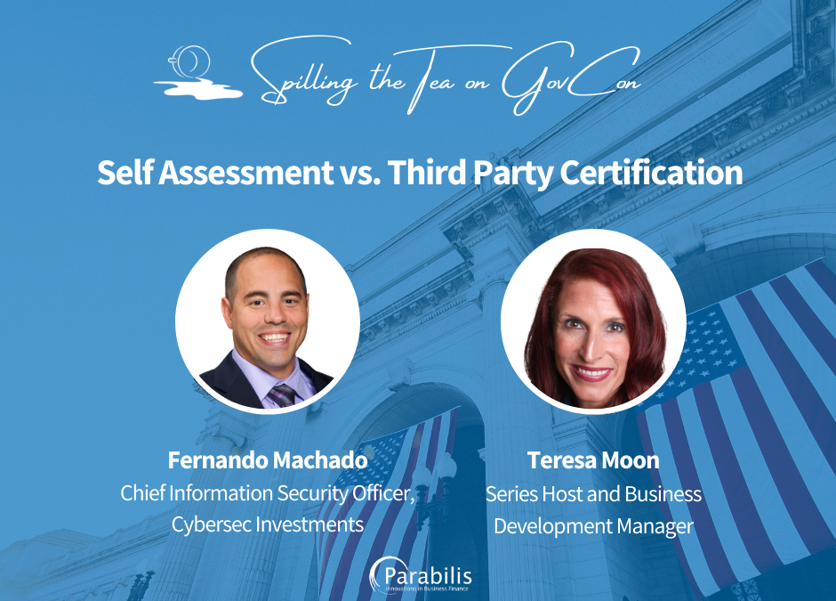 Self Assessment v. Third Party Certification